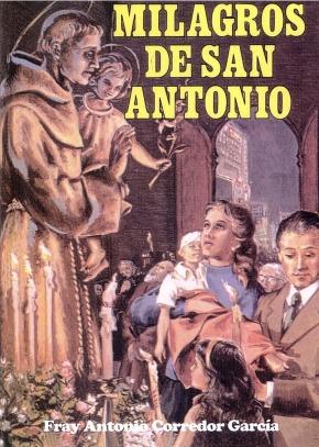 Libro Milagros de San Antonio
