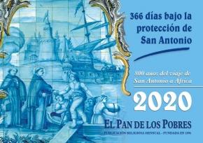 Calendario 2020. 366 dias bajo la proteccion de San Antonio
