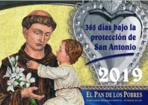 Calendario de San Antonio de Padua 2019