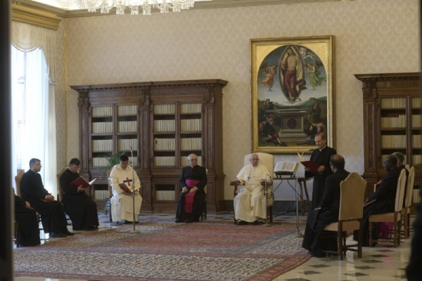 Audiencia del Papa Francisco - 12 de Agosto 2020