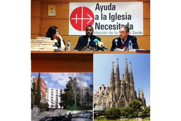 Ayuda a la Iglesia necesitada. Madrid y Barcelona