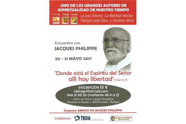 Conferencia Jacques Philippe 20 y 21 de Mayo