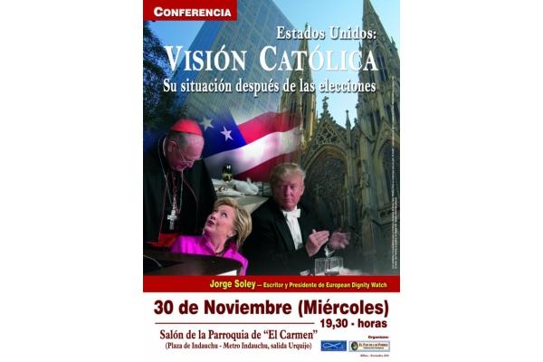 Visión Católica. Su situación después de las elecciones en Estados Unidos