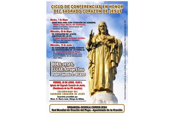 Conferencia sobre el ciclo del Sagrado Corazón de Jesús. Miércoles, 29 Mayo 2019