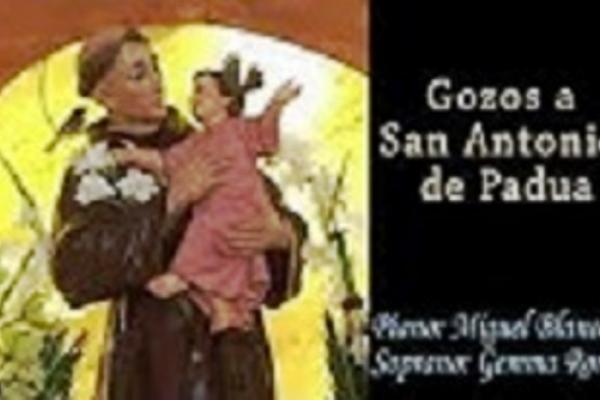 Gozos a San Antonio de Padua