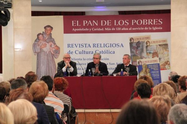 Jesús Higueras. Conferencia en el Hotel Carlton de Bilbao, Bizkaia
