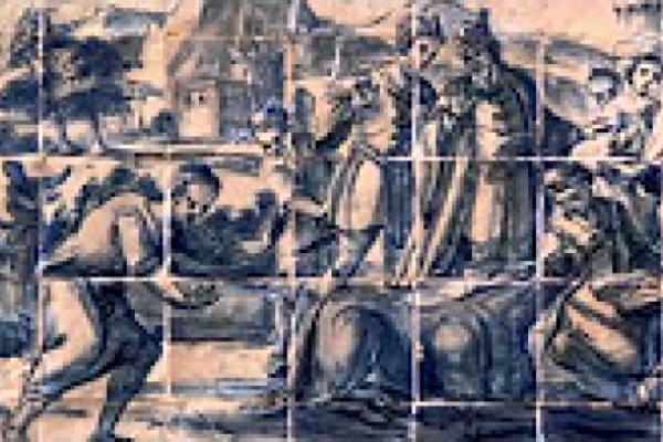 San Antonio de Padua. Milagros de la mula. Vida de San Antonio de Padua
