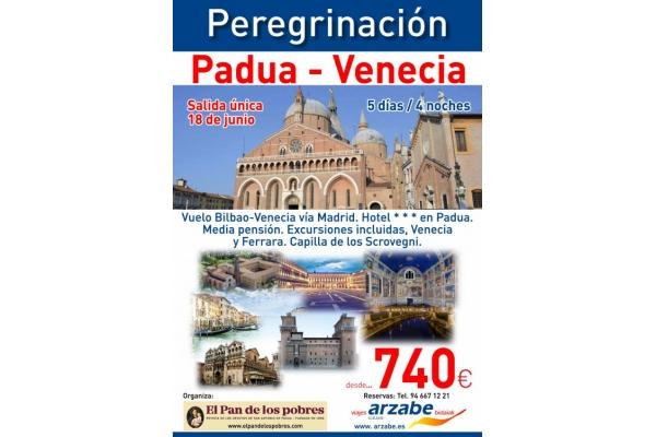 Peregrinación a San Antonio de Padua 2018