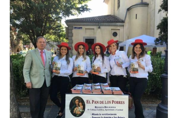 San Antonio de Padua en la Florida, Madrid. El Pan de los Pobres