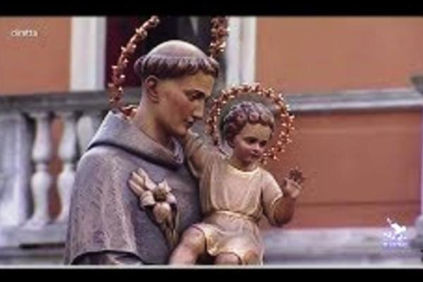 San Antonio de Padua, procesión en Padua, Italia