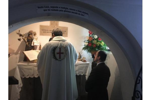 Vuestras súplicas ante San Antonio de Padua en Lisboa