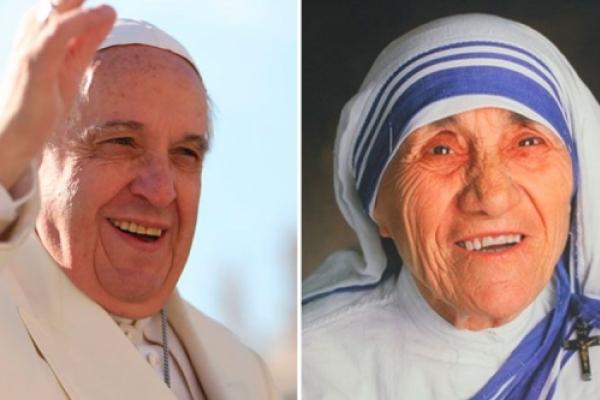 5 palabras del Papa Francisco a los jóvenes para seguir ejemplo de Madre Teresa