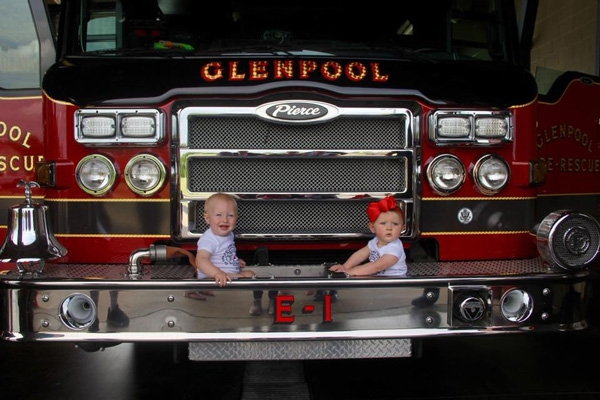baby boom bomberos  Glenpool, Estados Unidos