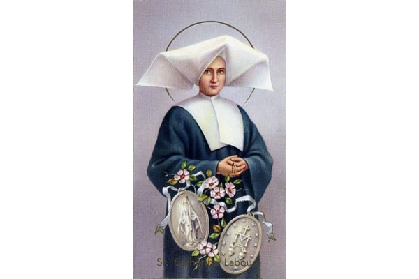 Memoria de Santa Catalina Labouré
