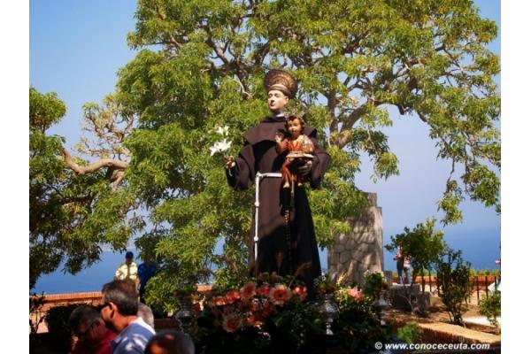 Ceuta honra a San Antonio de Padua