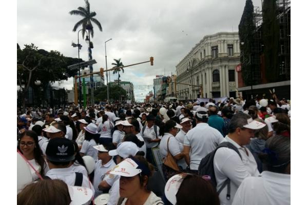 II Marcha por la vida y la familia en Costa Rica