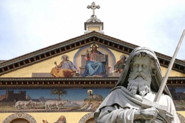 Descubre el lugar del último abrazo entre San Pedro y San Pablo