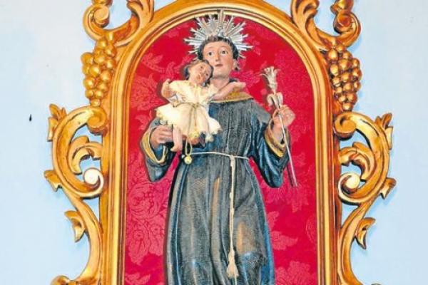 Devulven el niño Jesús robado el domingo tras una procesión en Bormujos
