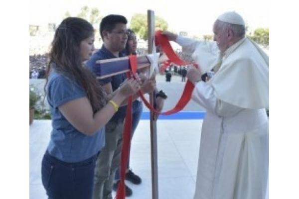 """El Papa Francisco en la jornada mundial de las naciones pide a los jóvenes pensar """"cual es su misión"""""""