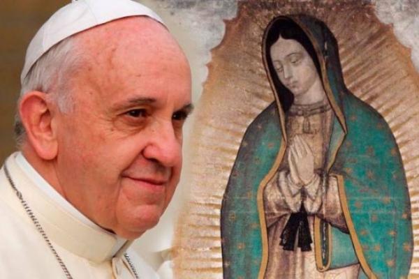 El Papa Francisco presidirá la Misa por la Virgen de Guadalupe