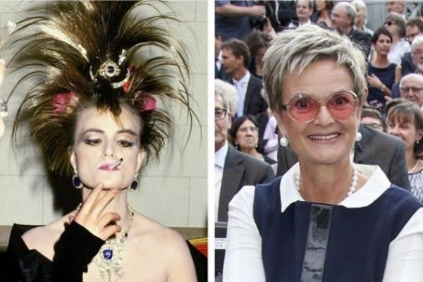La «princesa punk», del escándalo a la conversión en Lourdes