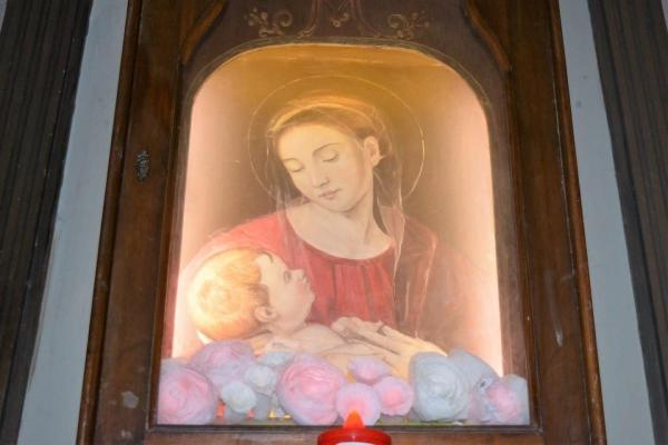 La Virgen que abrió los ojos en Roma