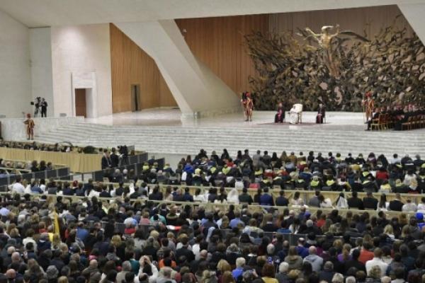 Audiencia General Papa Francisco, 16 de enero de 2019