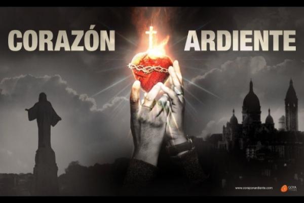 «Corazón Ardiente», la película sobre el Corazón de Cristo