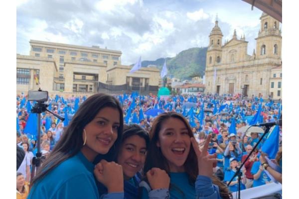 Marcha por la vida Colombia