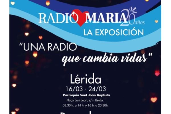 Radio María España presenta su exposición itinerante «Una radio que cambia vidas»
