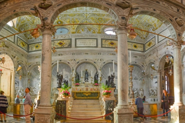 La tumba de San Antonio de Padua