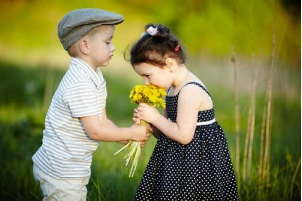 Percibir el amor como los niños