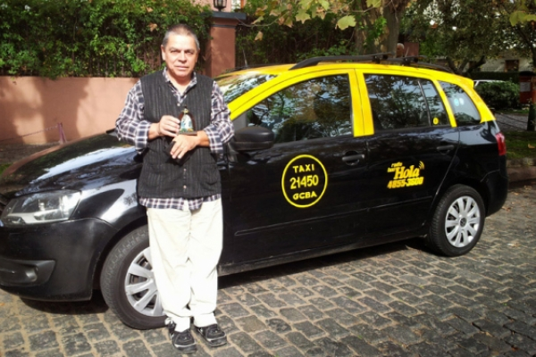 Taxistas evangelizadores en Buenos Aires