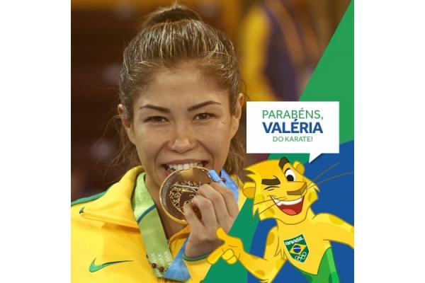 Valeria Kumizaki, medallista de oro en Lima 2019 agradece su triunfo a Dios y a la Virgen María