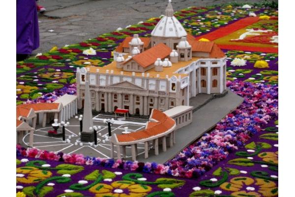 Guatemala y sus alfombras de Semana Santa