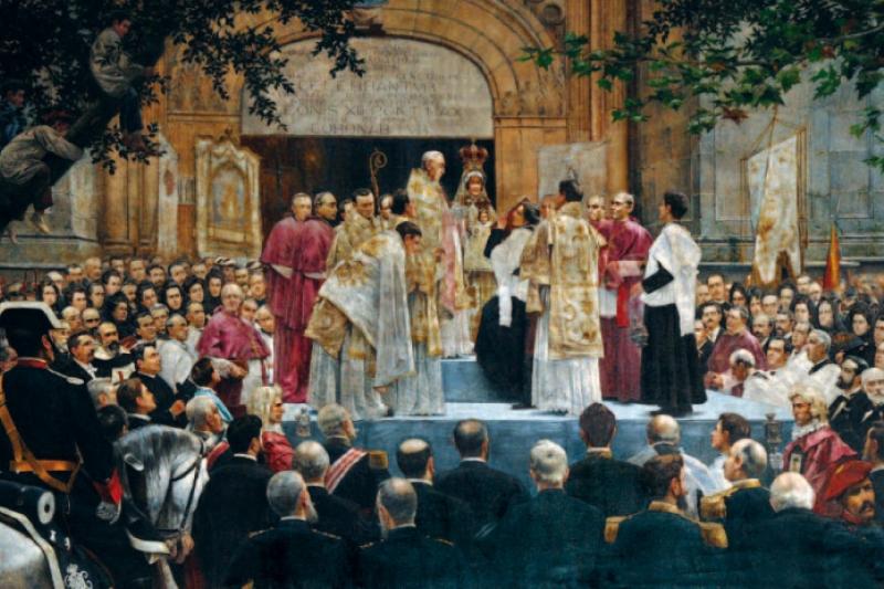 Coronación de la Virgen de Begoña