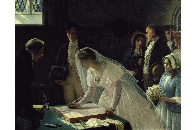 La firma en el registro