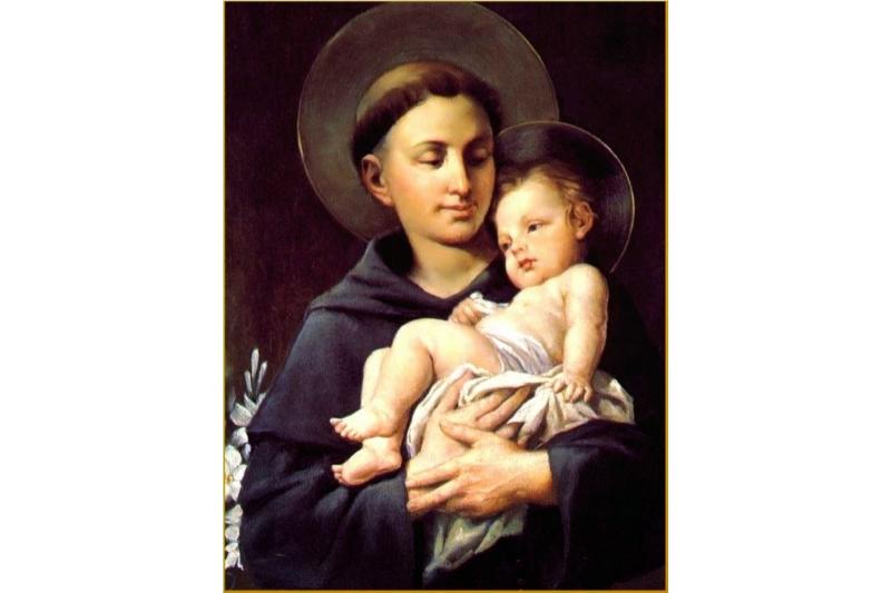 San Antonio de Padua, un santo alegre
