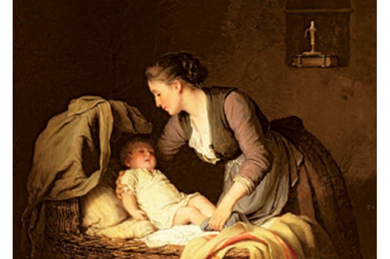Acostando al niño