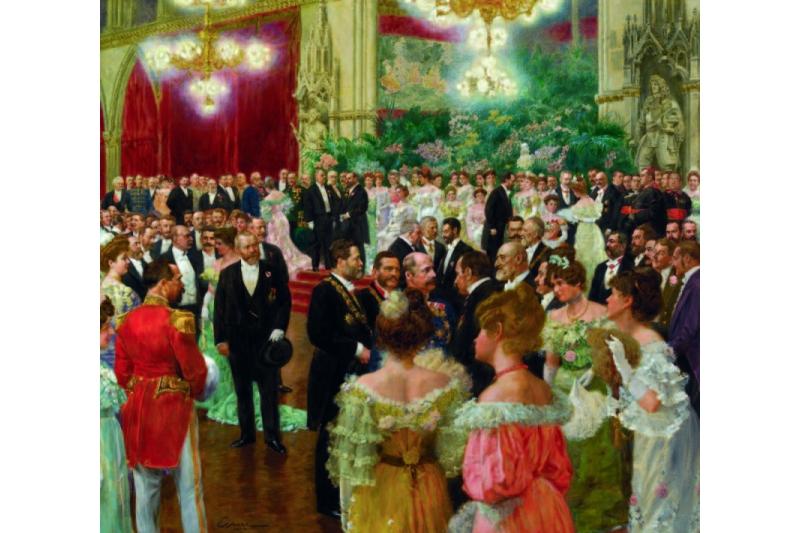 Baile en el Ayuntamiento de Viena. Wihelm Gause, 1904. Museo de Viena
