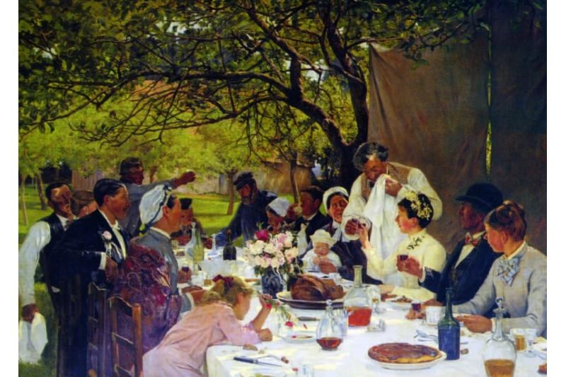 Banquete de boda en Yport