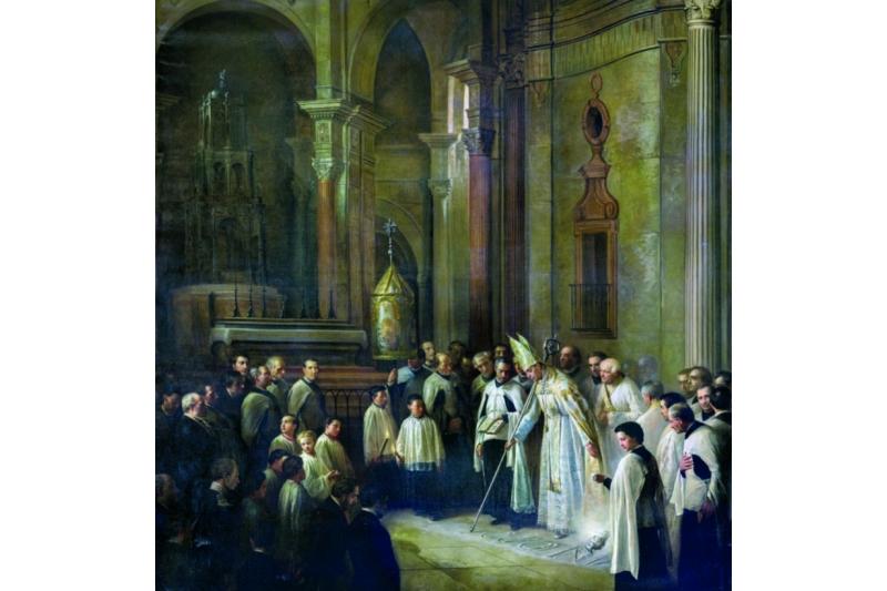 Consagración de la Catedral Nueva de Cádiz