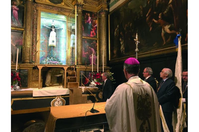 Cristo de los Milagros, Huesca