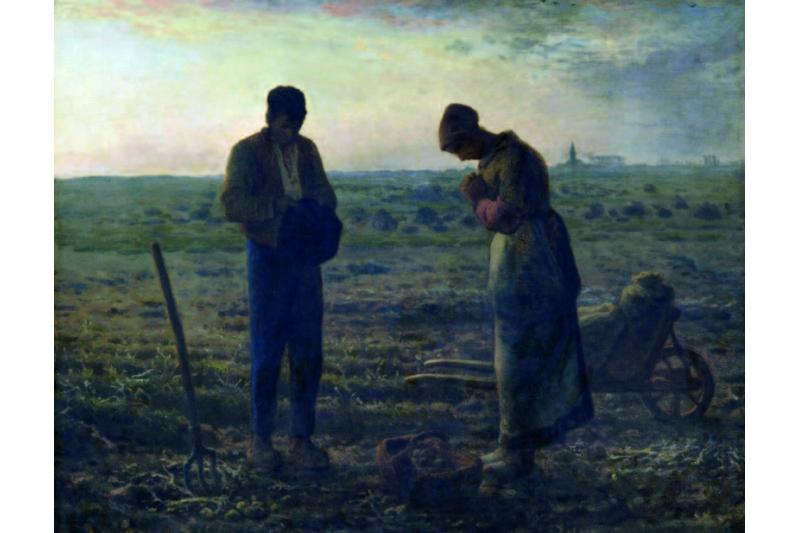 El Ángelus. Juan F. Millet. Museo de Orsay, París