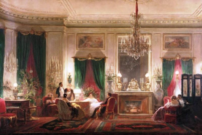 El salón de la princesa Matilde