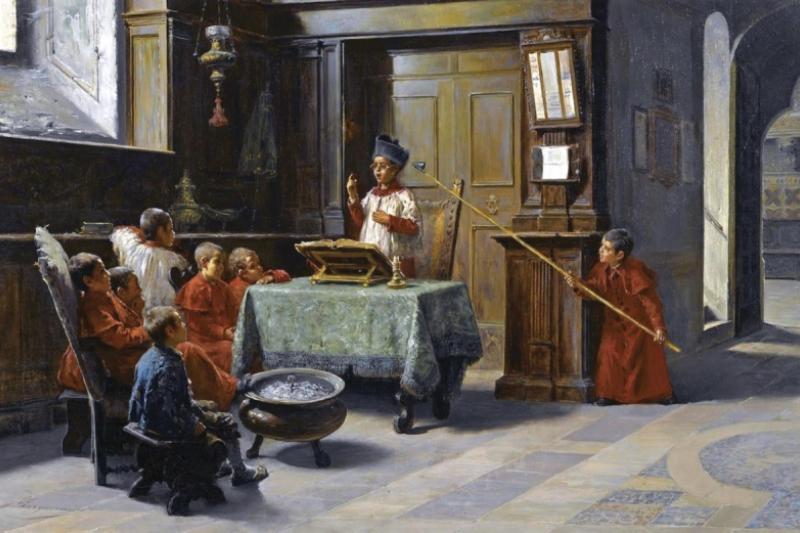 El sermón del monaguillo