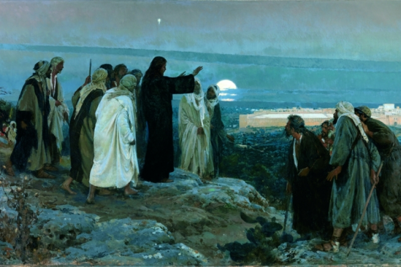Flevit super illam. Enrique Simonet Lombardo, 1892. Museo del Prado