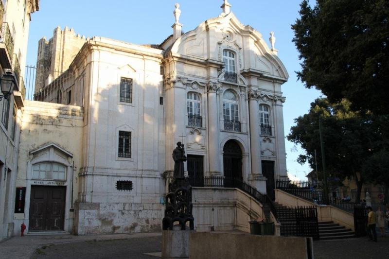 Iglesia de San Antonio en Lisboa – Su Casa Natal