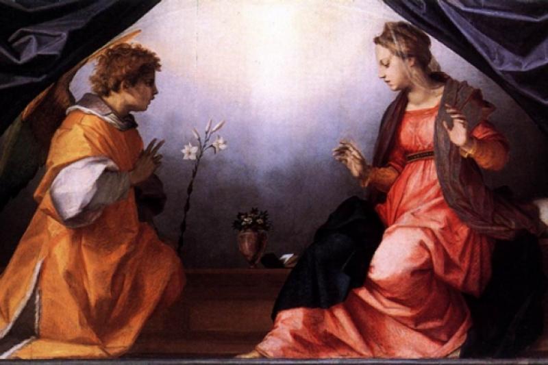 La Anunciación - 25 de Marzo