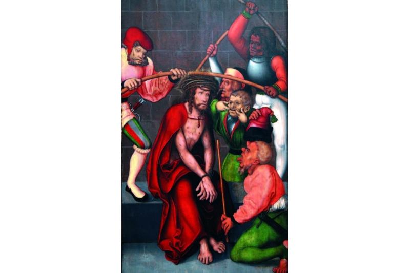 La coronación de espinas. Museo de Bellas Artes de Gante, Bélgica